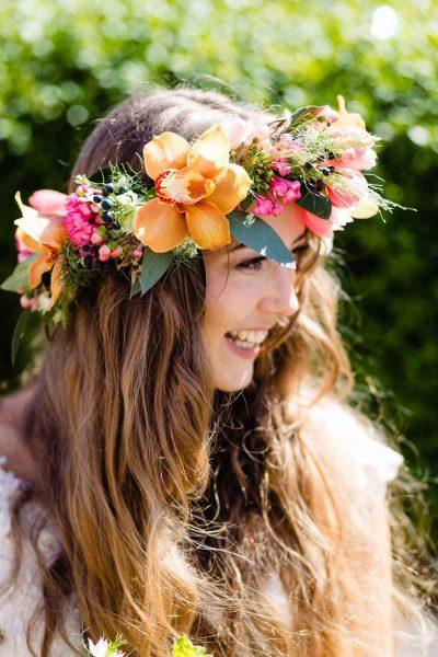 Flower Girl Hairstyles - Flower Crown