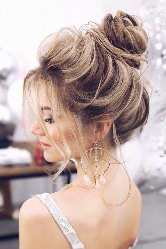 Flower Girl Hairstyles - High Ballet Bun