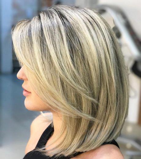 haircuts for teenage girls 2021 - A wispy, blonde bob