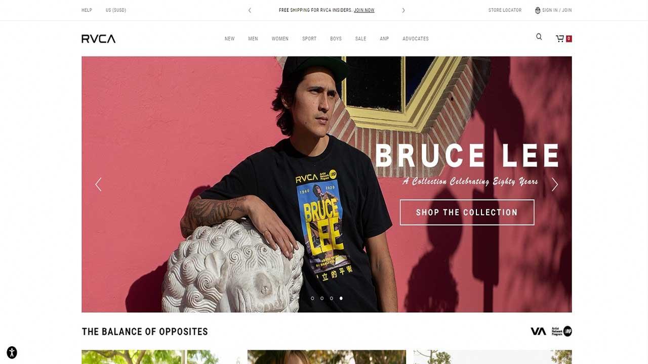 Stores Like Zumiez - RVCA