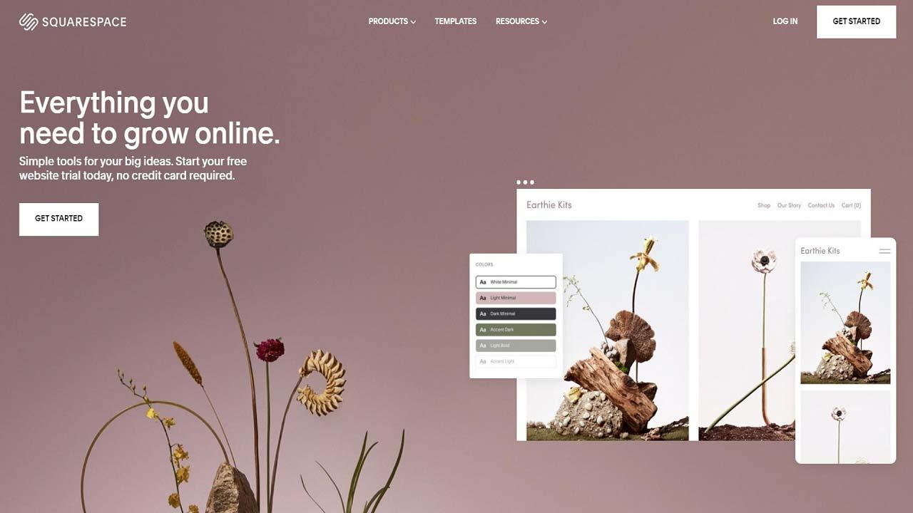 squarespace - Pay As You Go Websites
