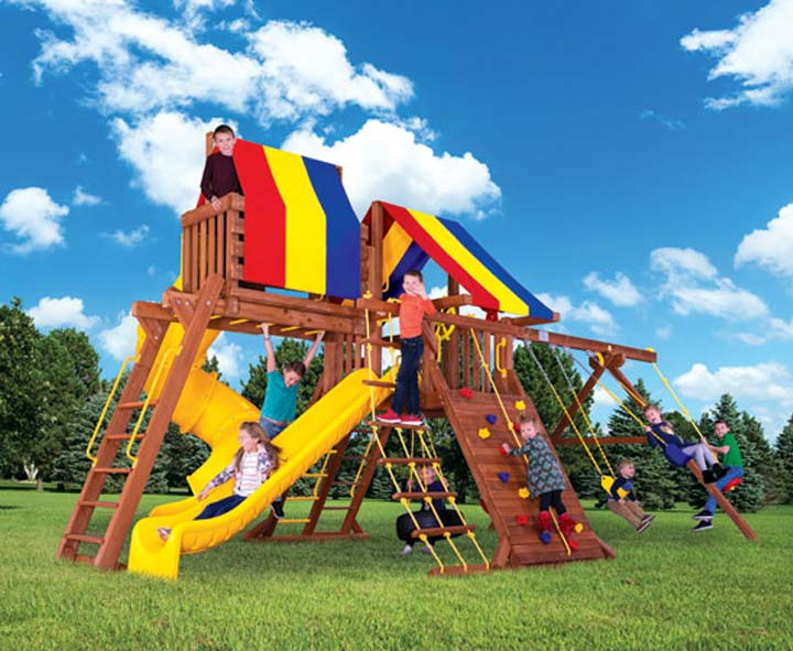 Everything You Need to Know About Rainbow Play Sets