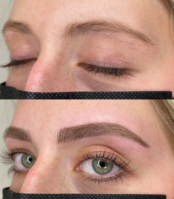 microblading healing process after touch up