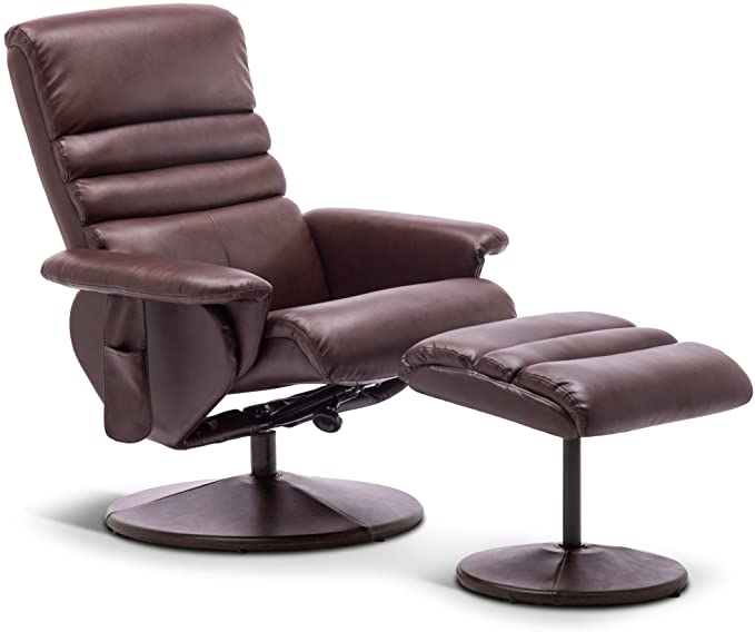 Mcombo Recliner with Ottoman