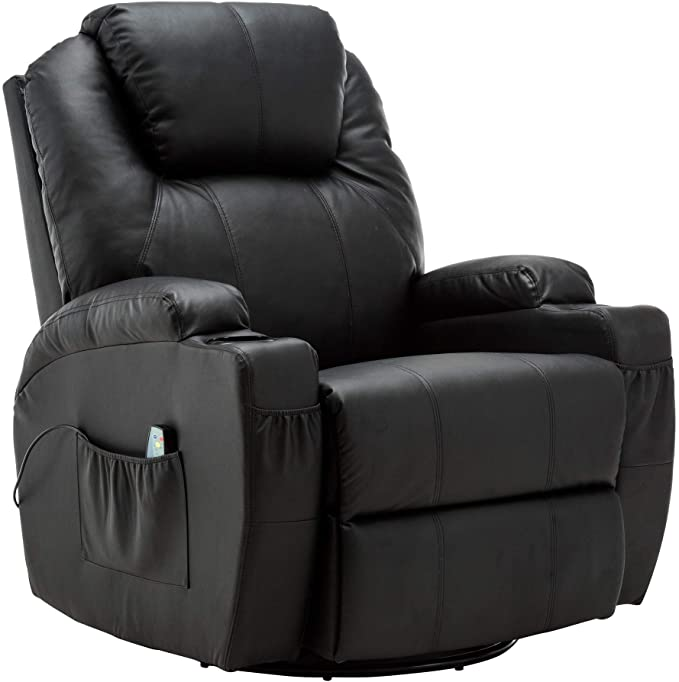 best recliners for back pain - Mcombo Manual Swivel Glider Rocker Recliner Chair