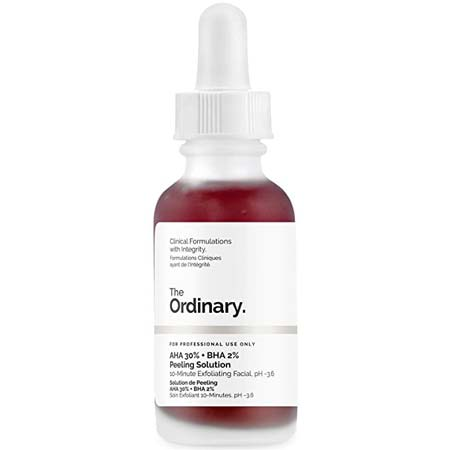 The Ordinary Peeling Solution 30ml AHA 30% + BHA 2% (Dermabrasion vs Microdermabrasion)