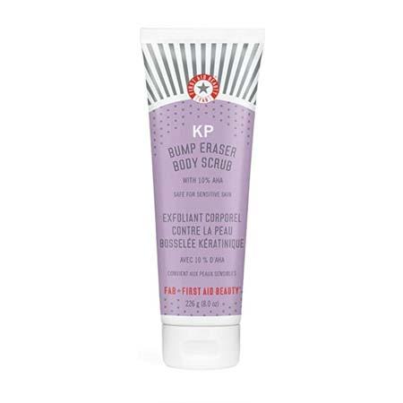 First Aid Beauty KP Bump Eraser Body Scrub Exfoliant with 10% AHA
